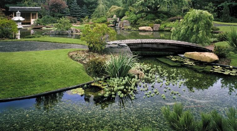 jardines japoneses modernos bonito diseno ideas