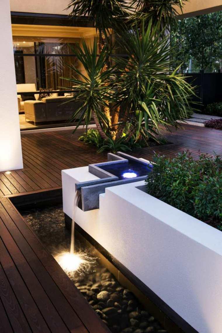 Decoracion de jardines y terrazas 35 ideas modernas - Jardines de diseno moderno ...