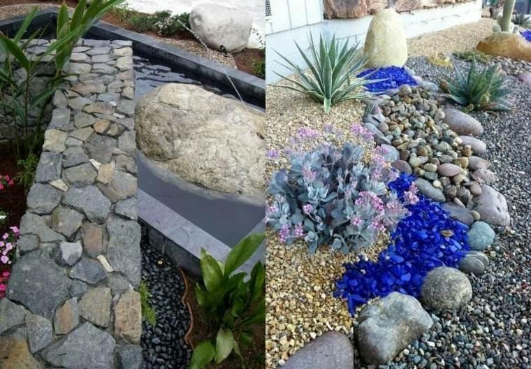 jardines piedras para crear espacios m gicos y relajantes On guijarros de colores para el jardin