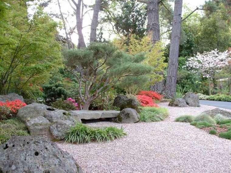 jardines piedras hierbas especiales flores
