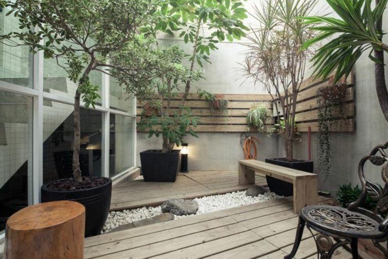 jardines piedras naturales metales balcones remodelaciones