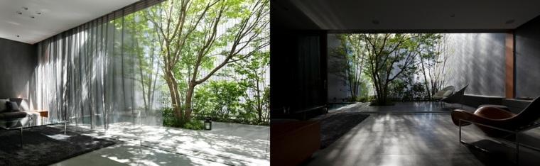 ladrillos cambios interiores madera arboles