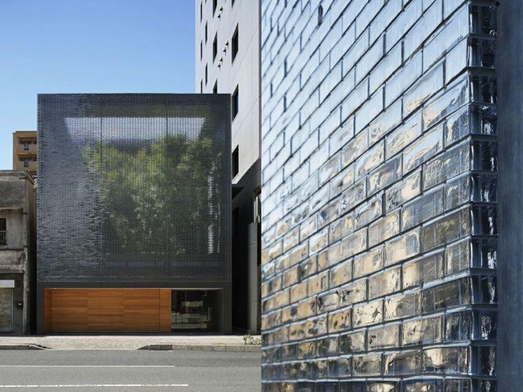 ladrillos efectos paredes especiales garages exteriores