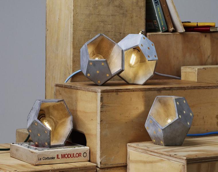 lampara modelo d12 Plato Design