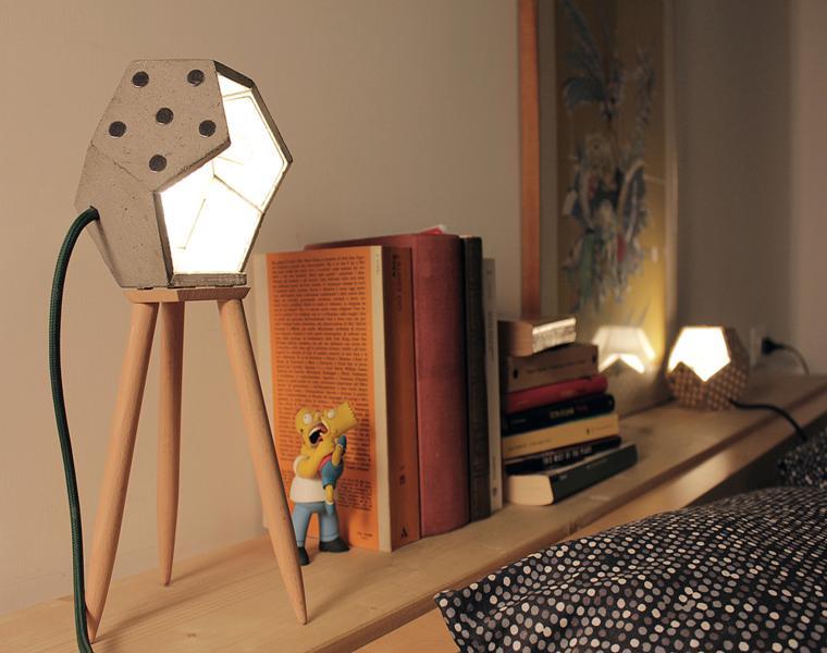 lampara moderna d12 silla
