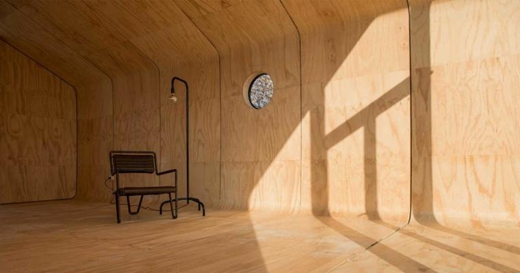 lineas madera especiales circulares sillones
