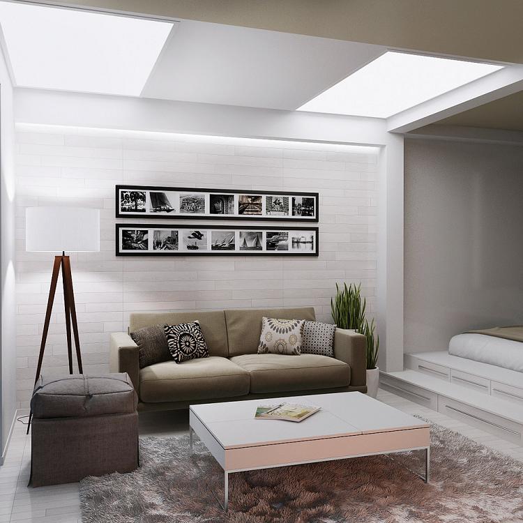 luces modernos efectos led falso techo
