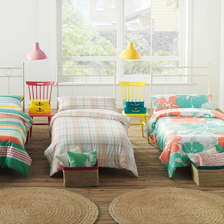 madera colores efectos muebles sillas