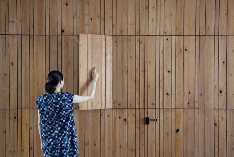 madera colores estantes paredes ideas estantes