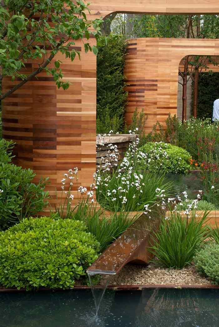 madera estantes plantas suelos efectos