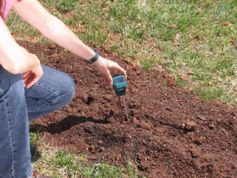 medir minerales ph del suelo