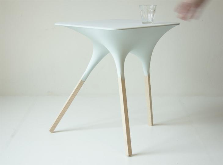 mesa agua elegantes fresca madera