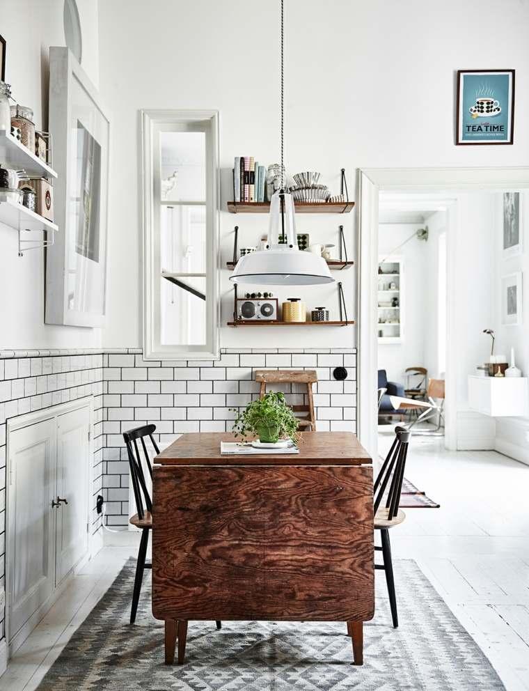 Decoraci n vintage para cualquier habitaci n del hogar - Mesa cocina vintage ...