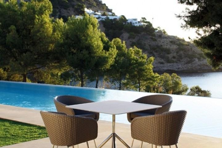 Mesas originales de diseño aptos para exteriores -