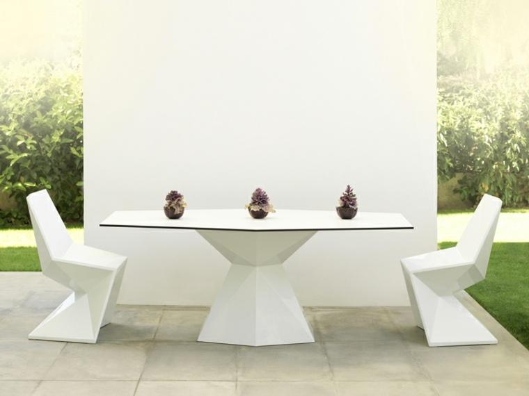 mesa original disenos aptos jardin VERTEX VONDOM ideas