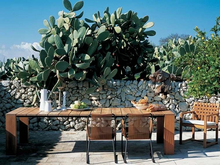 mesa original disenos aptos jardin madera grande ideas