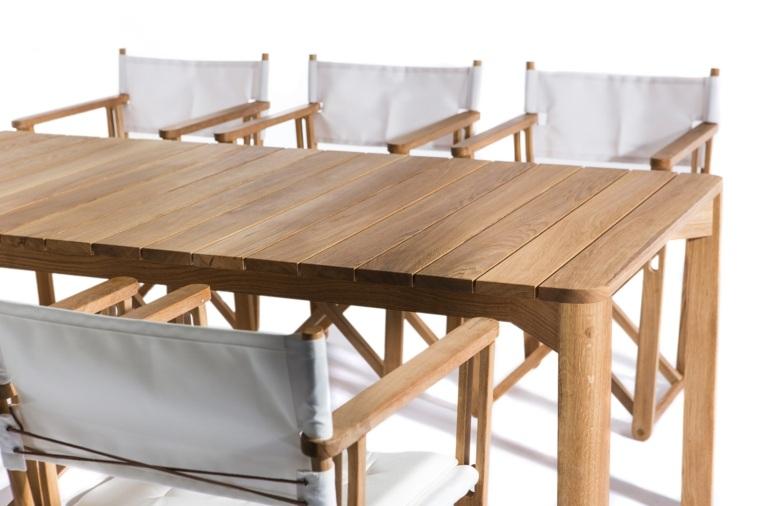 Mesas originales de dise o aptos para exteriores - Mesa madera diseno ...