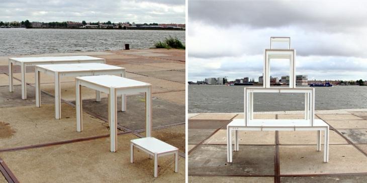 mesas funcionales esperimentales blancas ideas