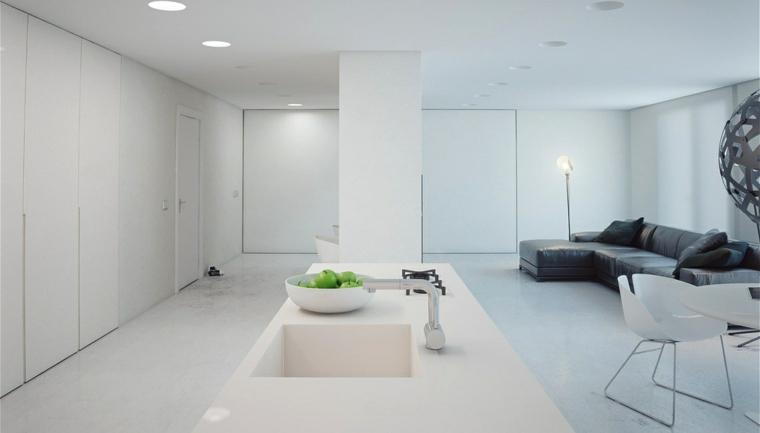 minimalista verdes acentos espacios cebtro