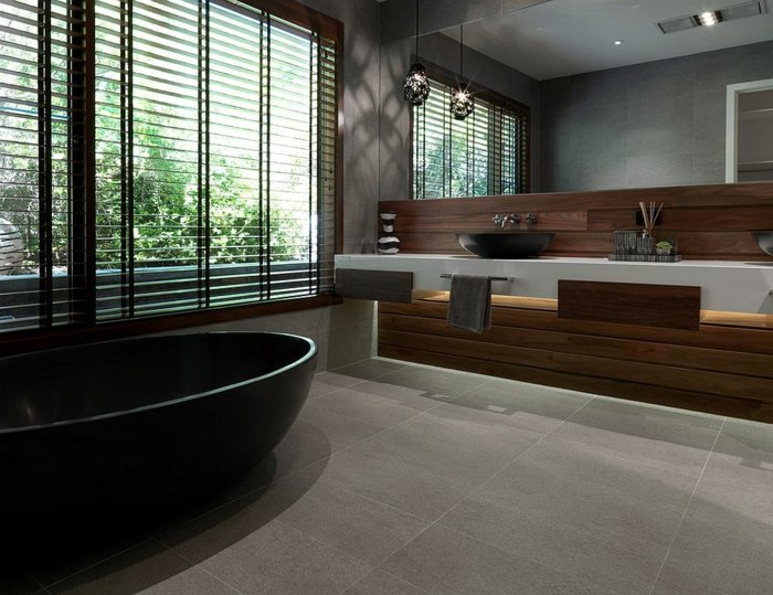 baldosas tendencias madera suelos grises atractivos