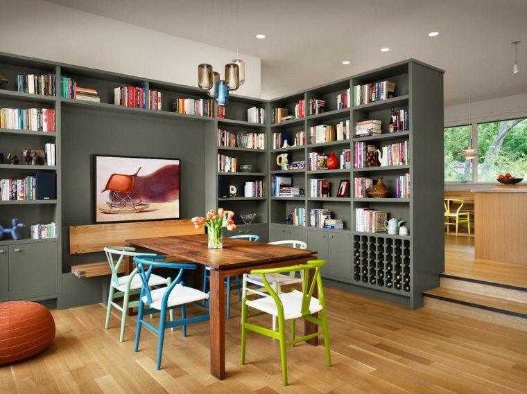 Separador de ambientes ideas para interiores y exteriores for Mueble separador de ambientes