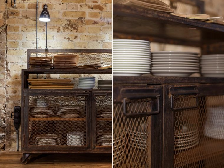 mueble cocina estilo diseno vintage ideas