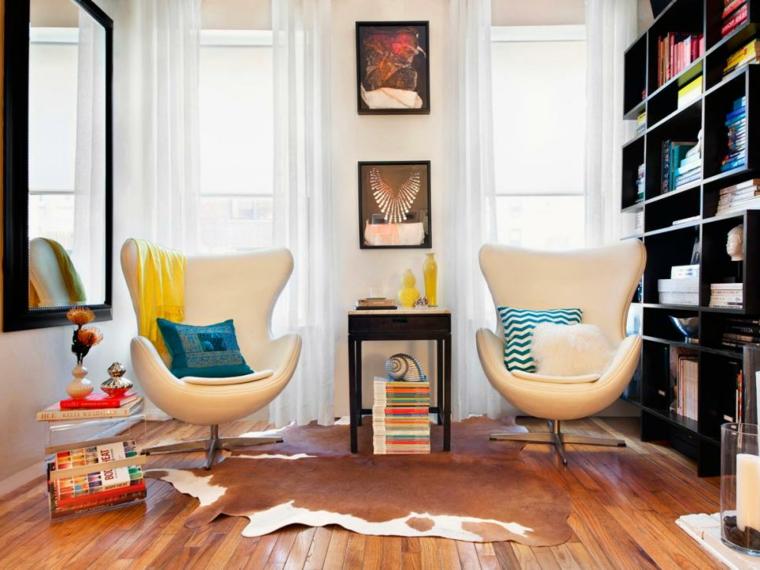 mueble estantes color negro moderno