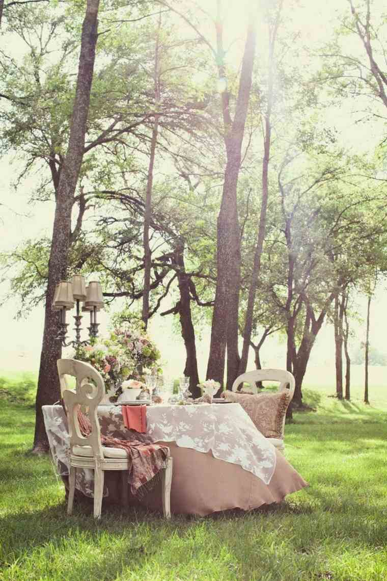 muebles interior sacados jardin estilo retro ideas