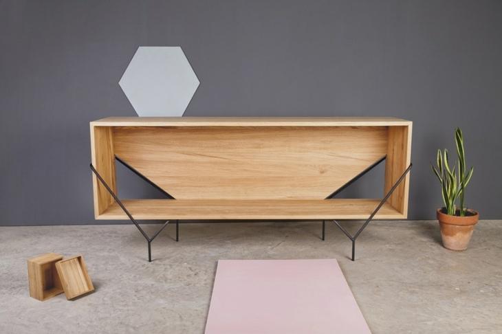 muebles madera detalles asombrosos macetas