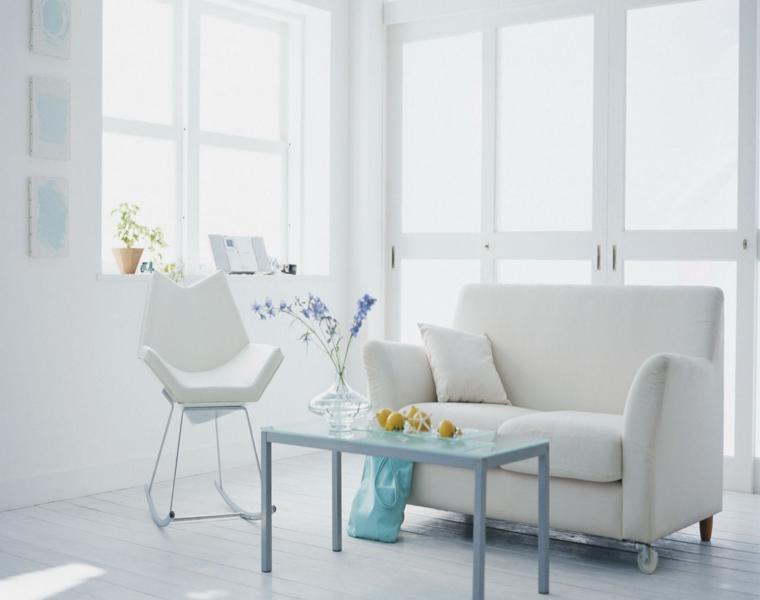 muebles diseño moderno blanco