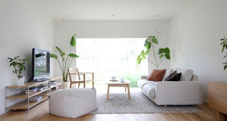 muebles sencillos color blanco