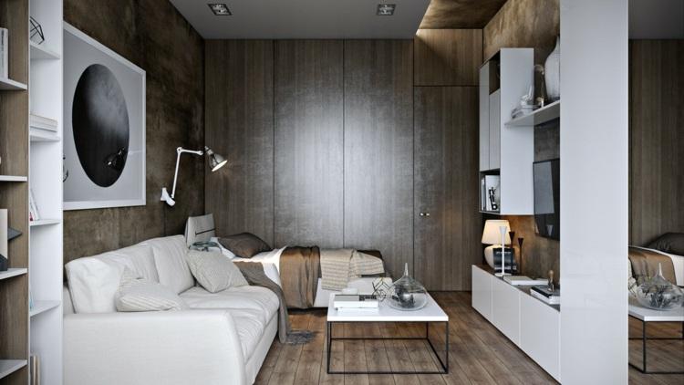 muebles separadores estilos blanco colgantes