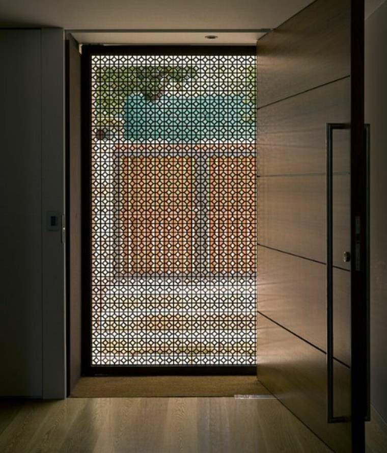 original puerta estilo arabe