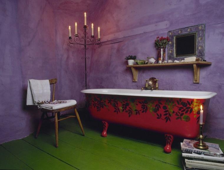 original diseno baño estilo eclectico