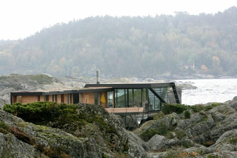 original diseño arquitectura moderna rocas