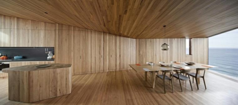 original diseño interior moderno madera