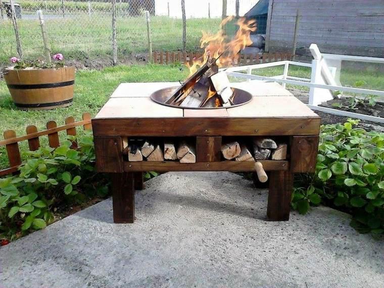 original mesa plato fuego