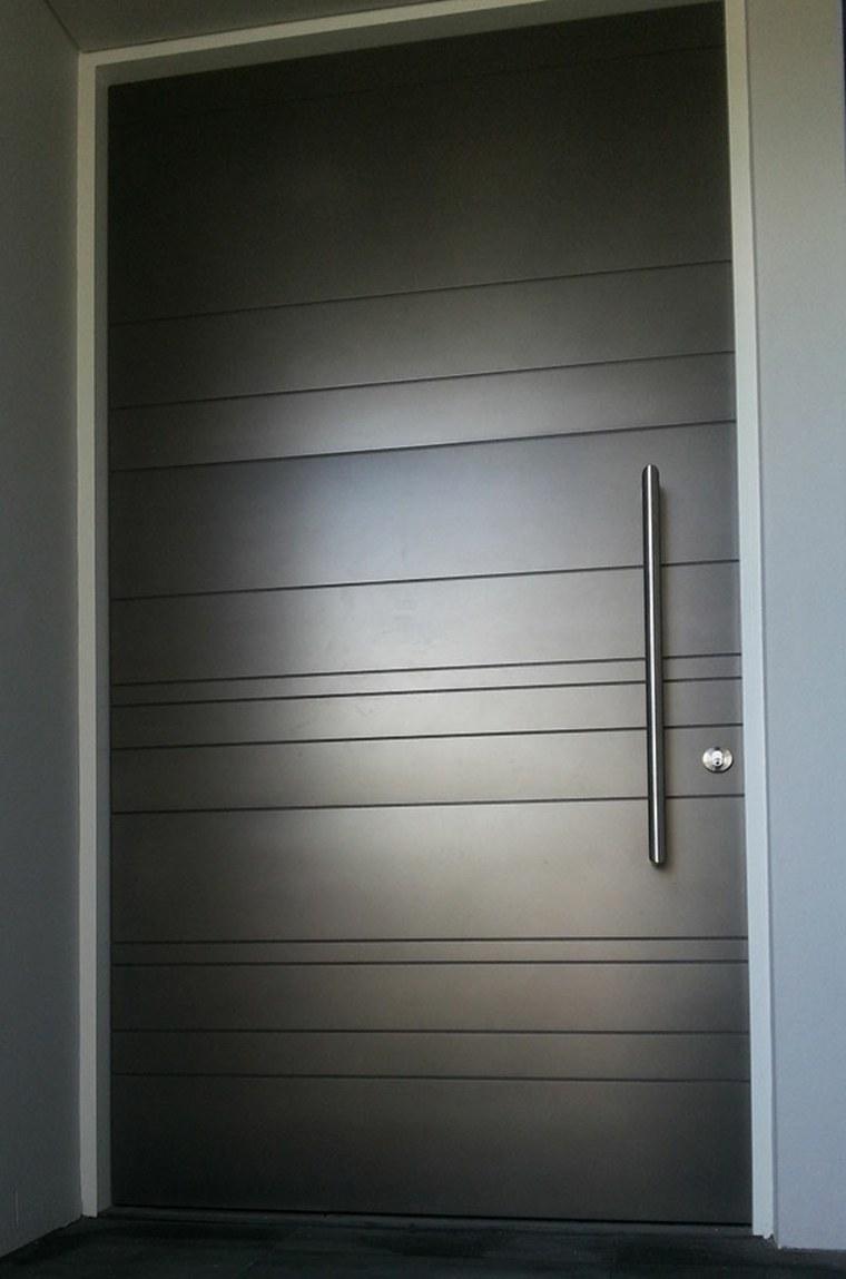 Puertas de entrada de dise o moderno 49 modelos - Puertas de entrada modernas ...