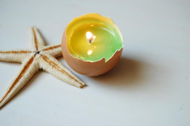 original vela cascara huevo