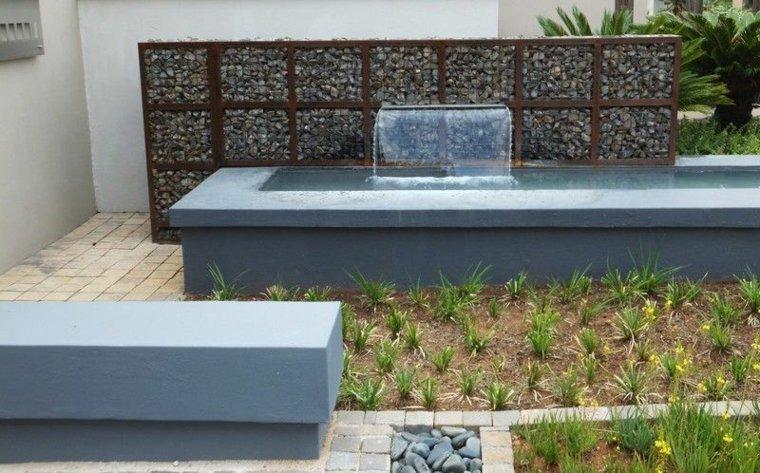 original decoración jardin moderno