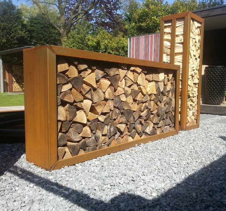 Separador de ambientes ideas para interiores y exteriores for Separador piedras jardin