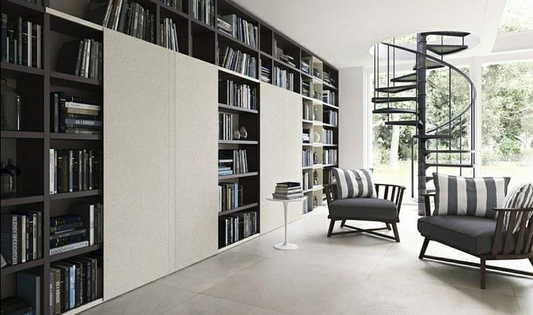 original diseño biblioteca armarios