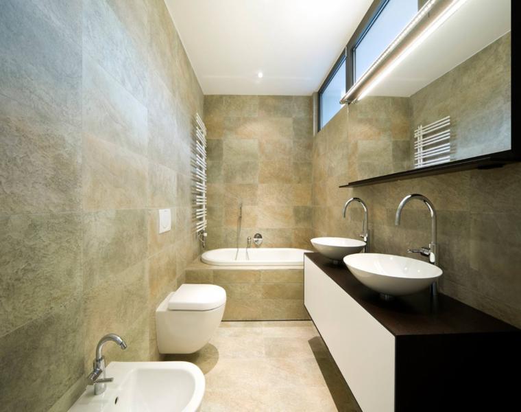 Baños Modernos Revestimientos:Fotos de baños – cuarenta ideas inspiradoras para interiores -