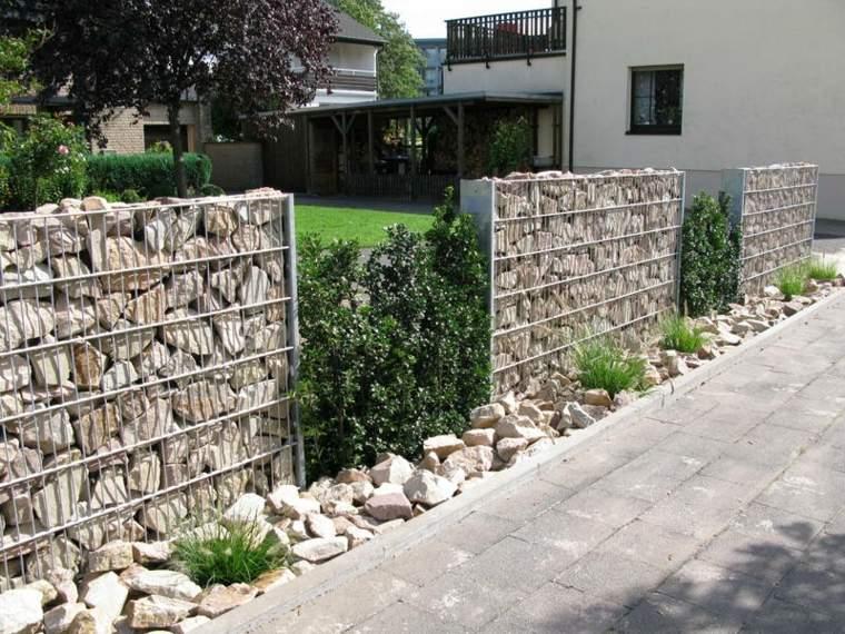 originales diseños muros piedras