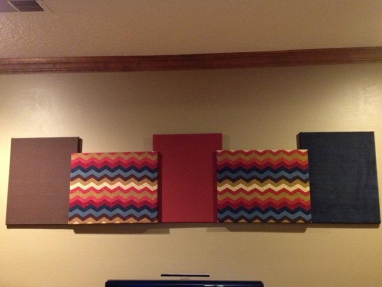 Tapices y decoraciones de pared con textiles 30 ideas - Decoraciones para paredes ...