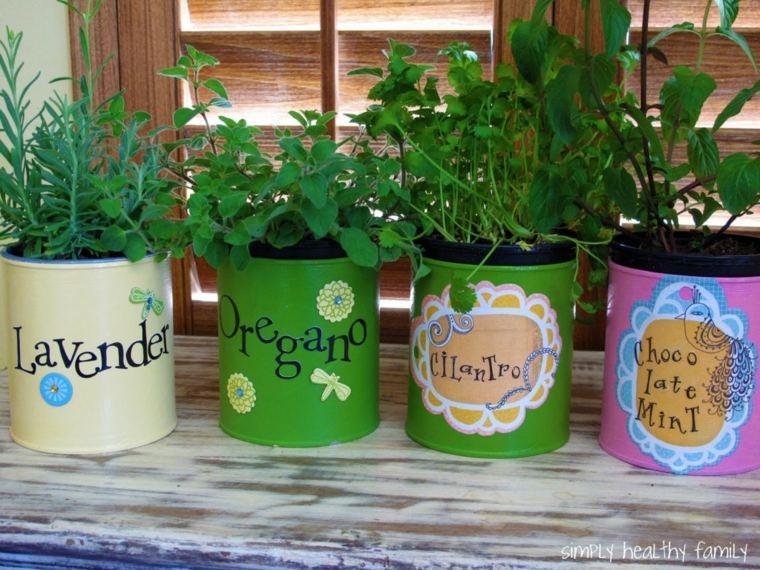 Especias naturales cultivadas en tu propio hogar 24 ideas - Macetas originales para plantas ...