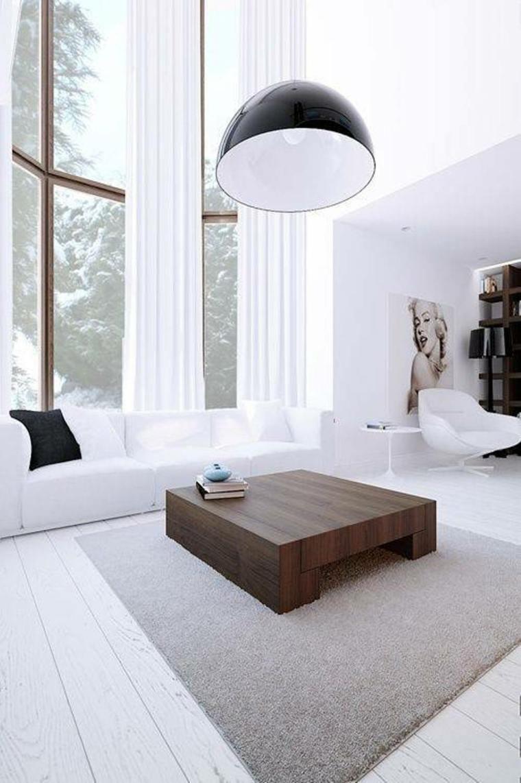 originales diseños salones blancos