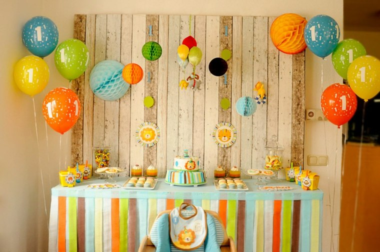 Ideas originales para cumplea os c mo decorar una fiesta - Ideas originales para decorar paredes ...