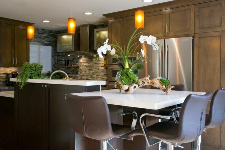 Centros de mesa decoracion elegante para comedores