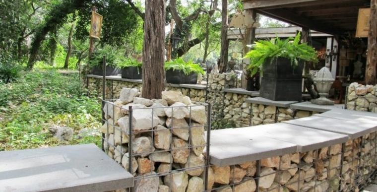 piedras rocas gavion decorativo